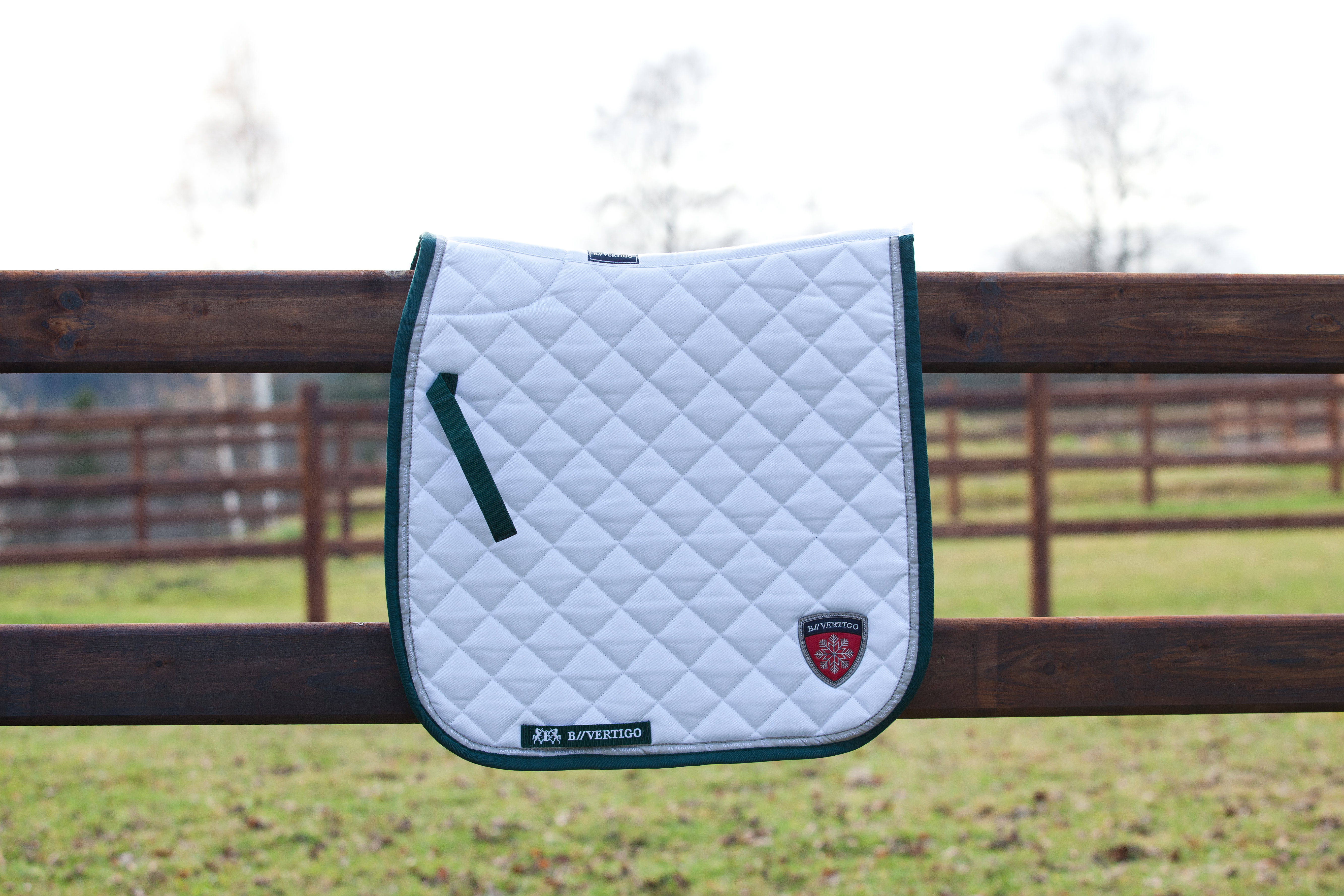 B Vertigo Parker Saddle Pads Dressage