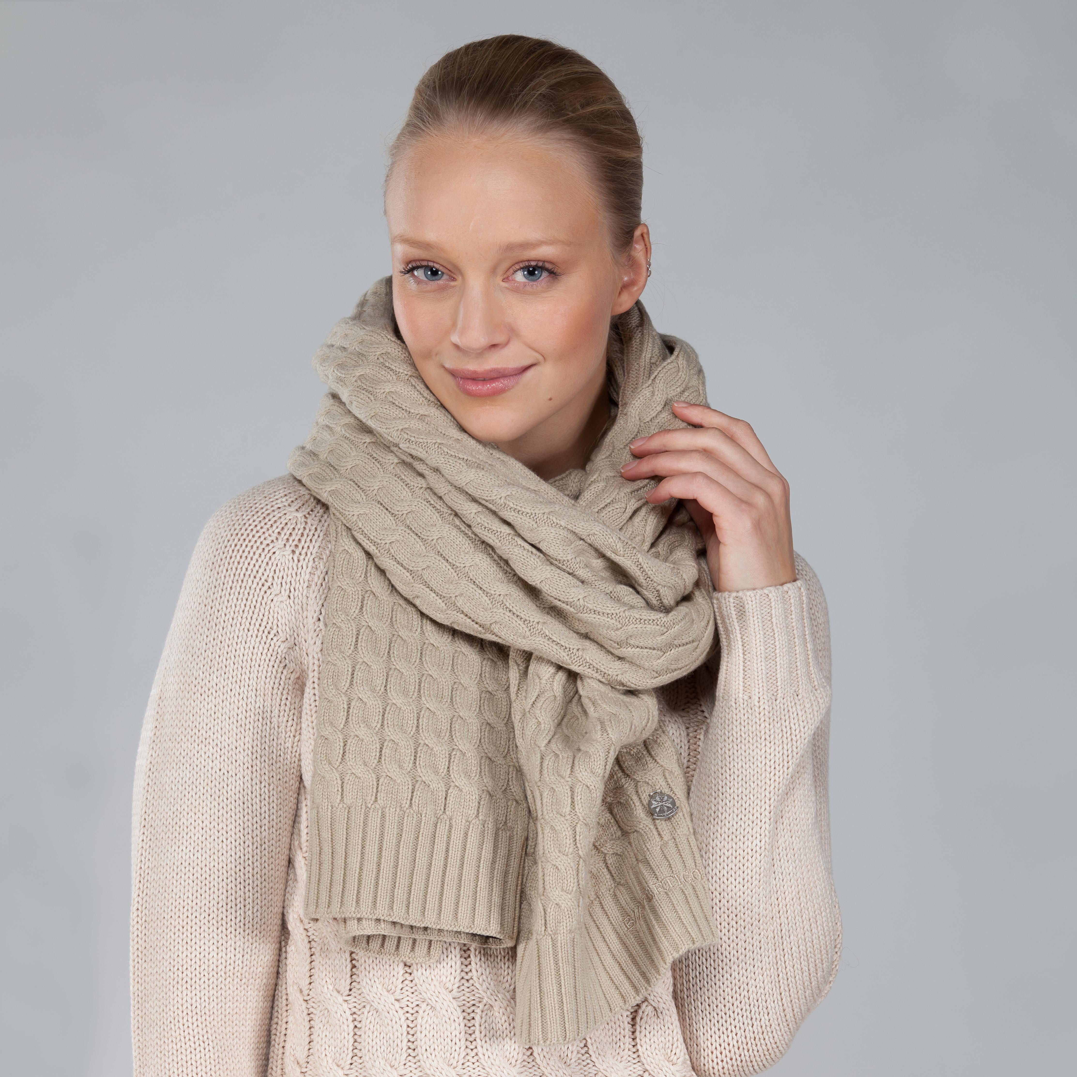 B Vertigo Landon Knitted Scarf