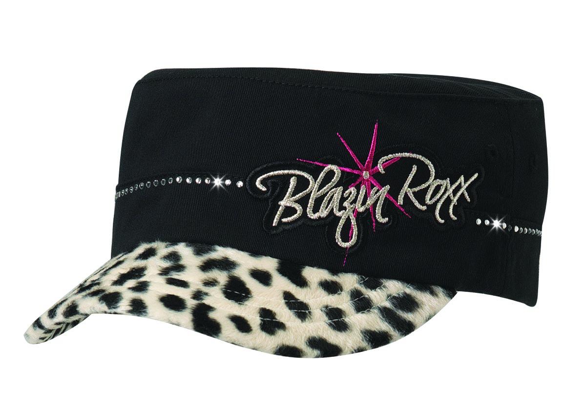 Blazin Roxx Youth Military Logo Offset Hat