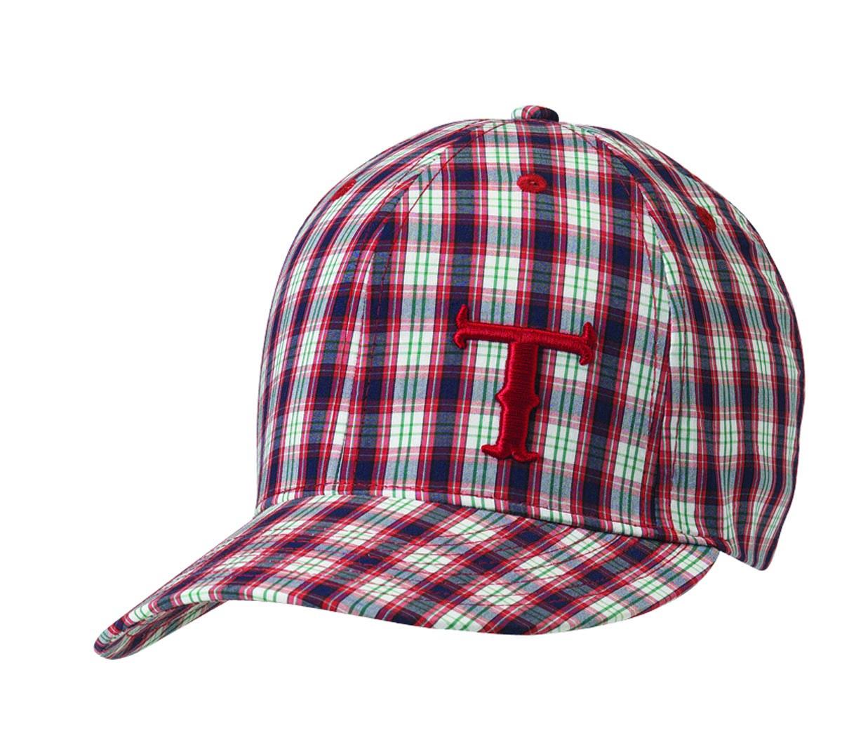 Twister Youth Logo Plaid Baseball Cap