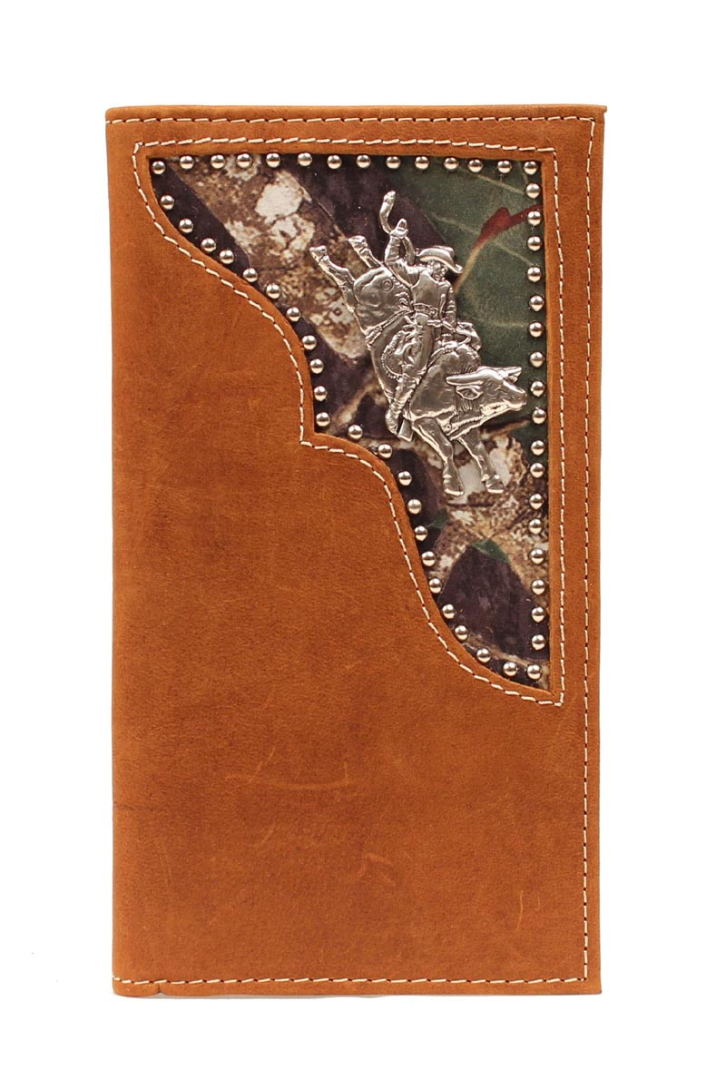 PBR Rodeo Camo Inlay Bull Rider Wallet