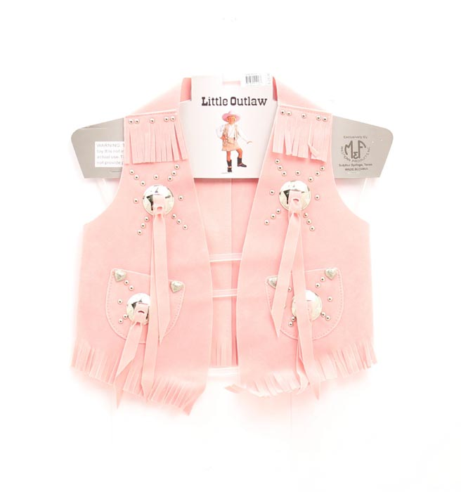 Big Time Rodeo Girls Suede Costume Vest