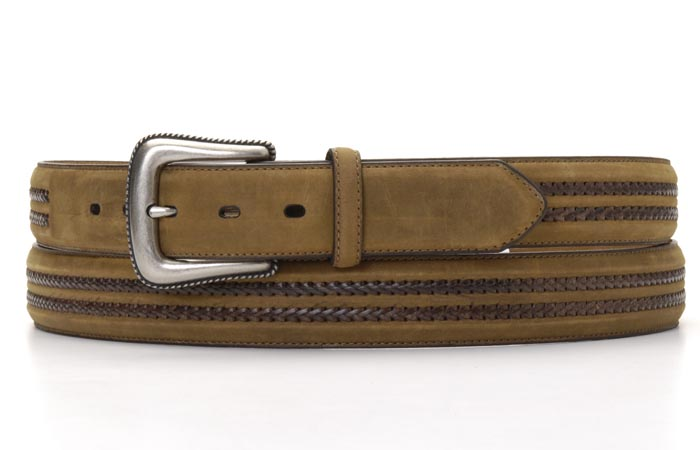 Nocona Double Laced Mens Belt