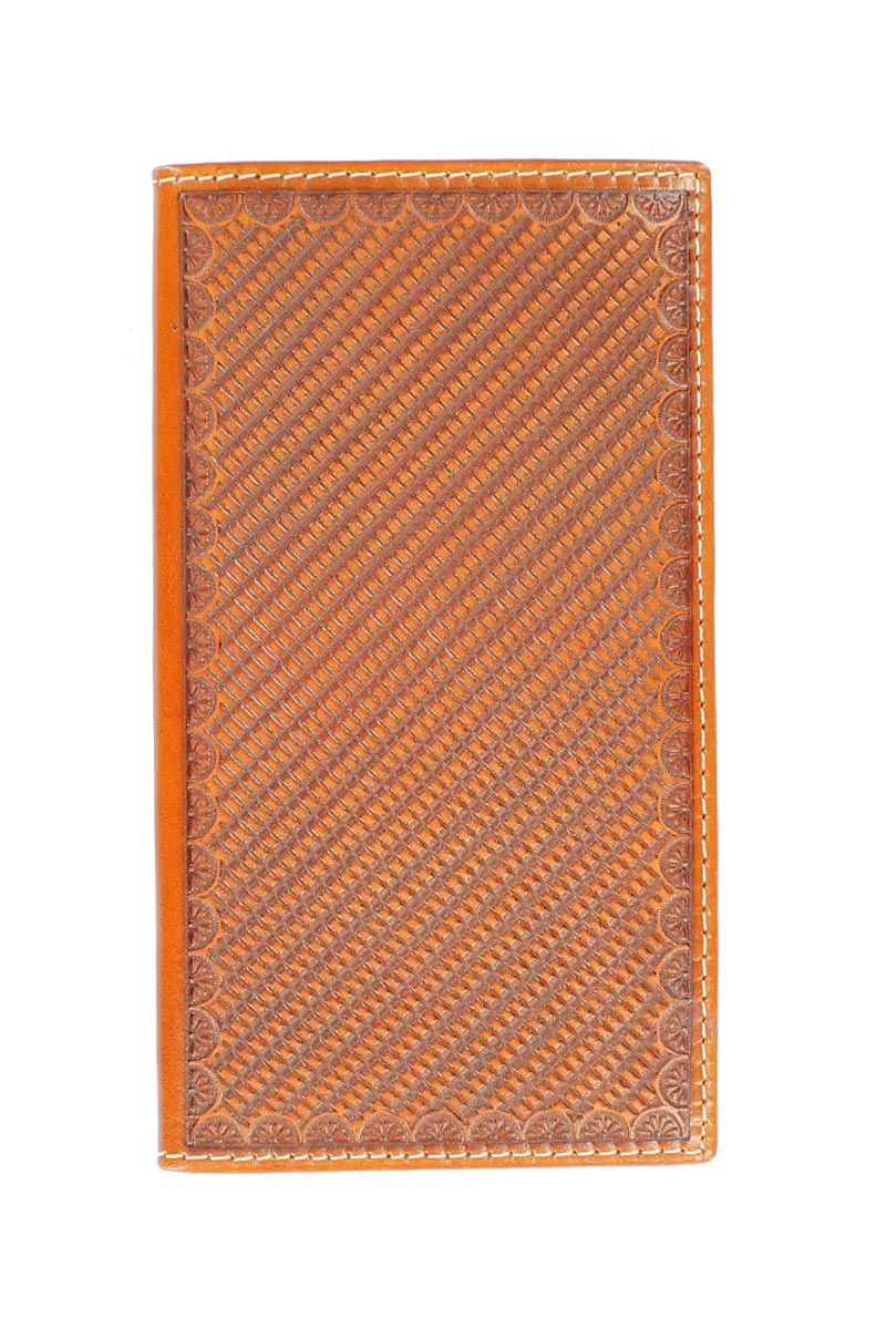 Nocona Rodeo Stamped Leather Wallet