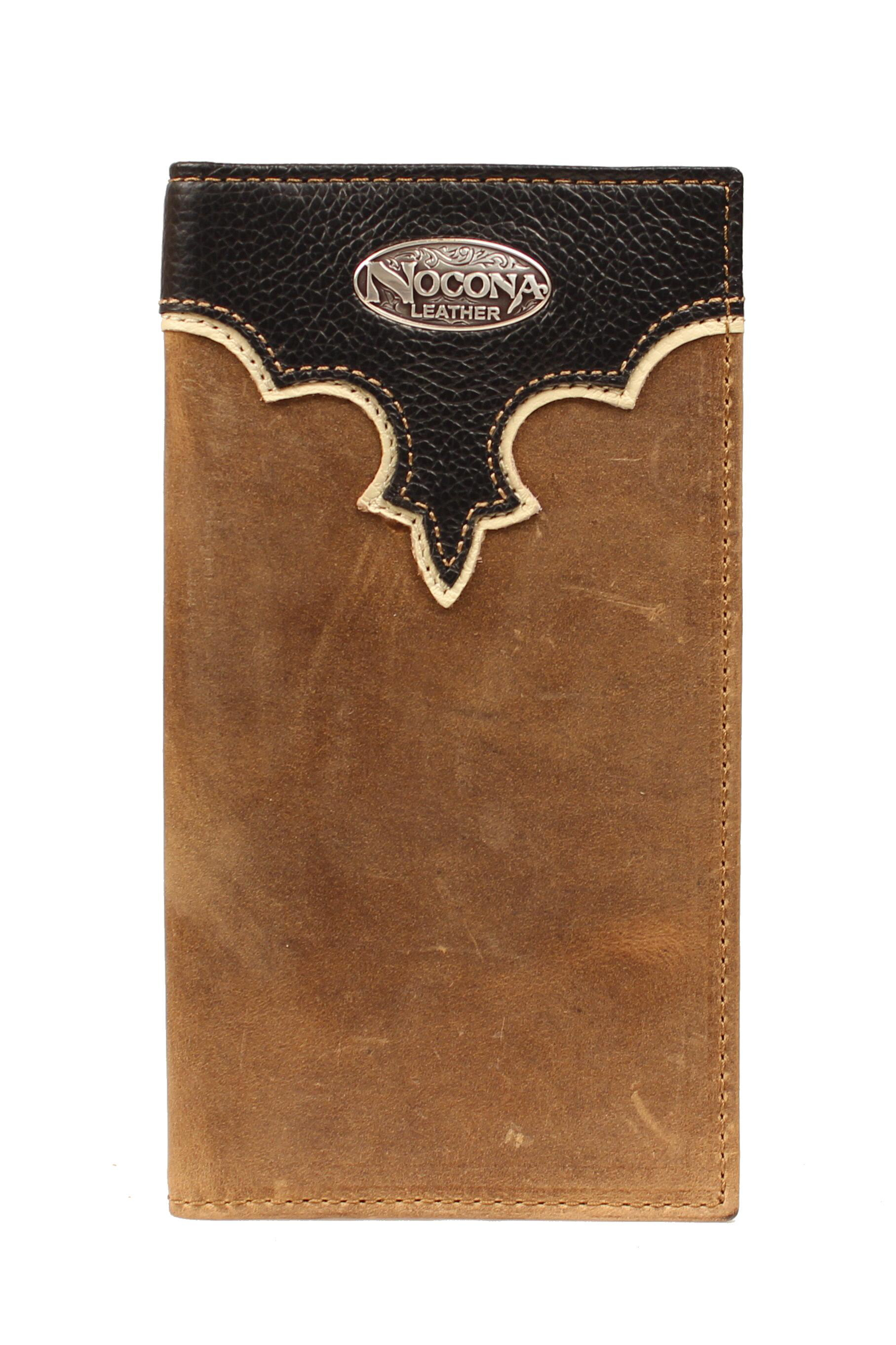 Nocona Rodeo Overlay Wallet with Logo Concho