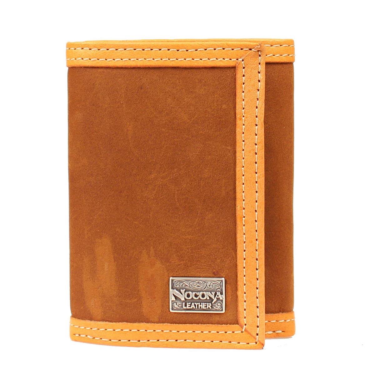 Nocona Smooth Leather Tri-fold