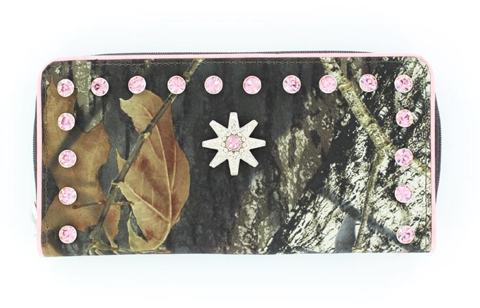 Blazin Roxx Ladies Bifold Spur Rowel Wallet