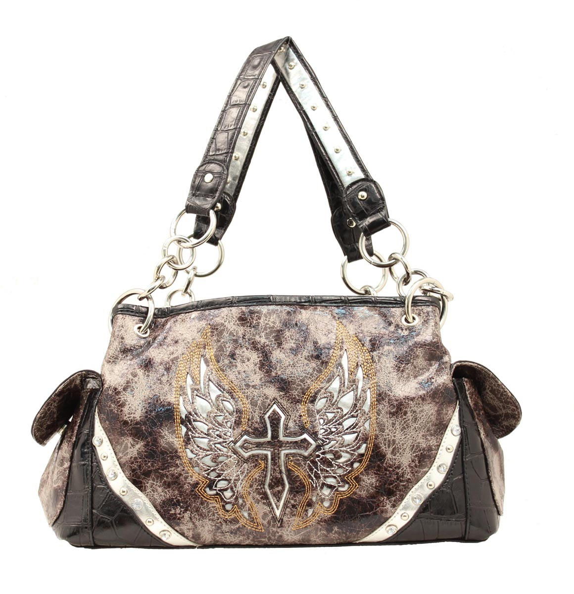 Blazin Roxx Cross/Wing Satchel