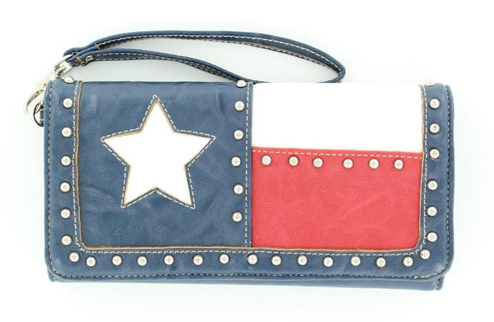 Blazin Roxx Texas Flag Wallet