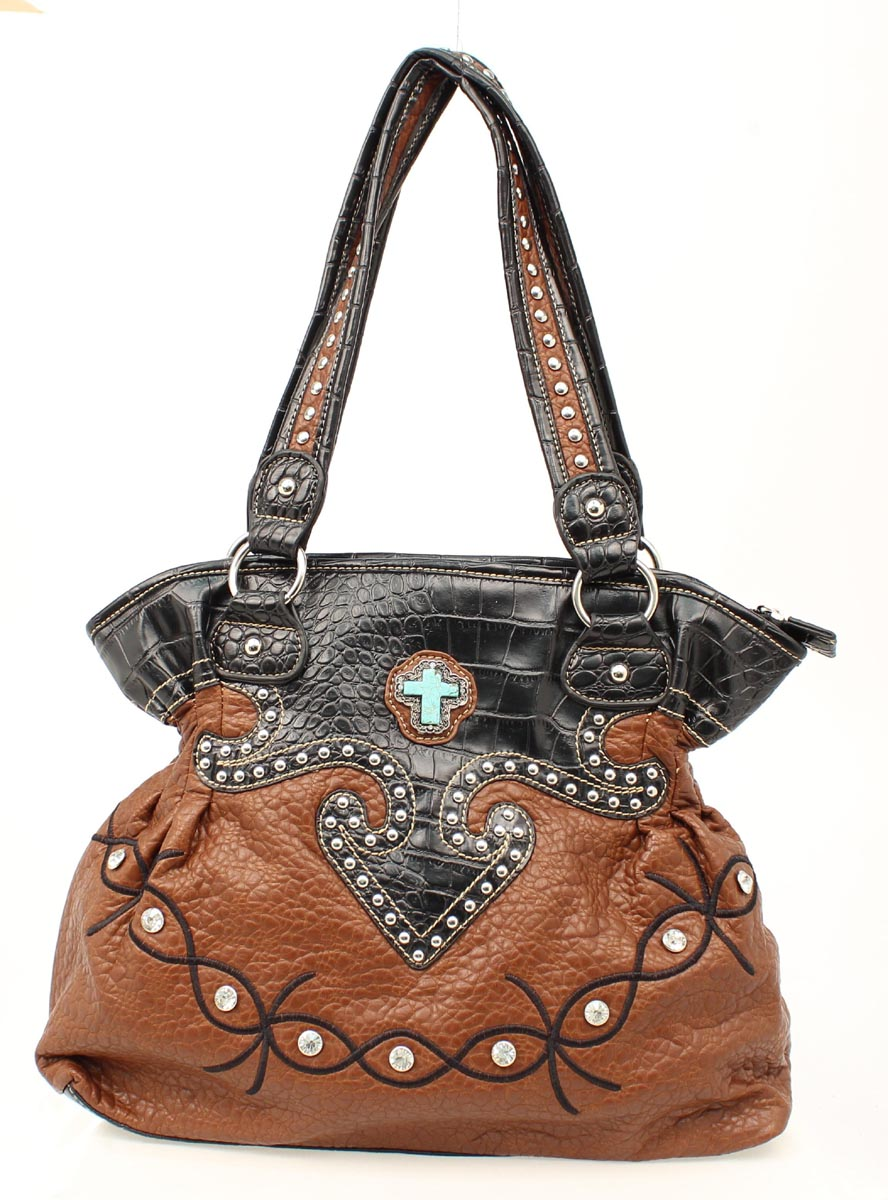 Blazin Roxx Bucket Cross Gator Handbag
