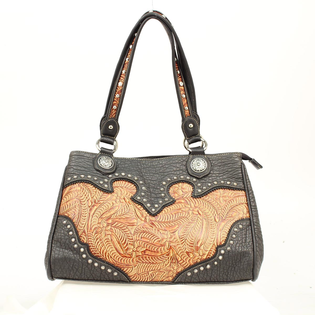 Blazin Roxx Tooled Shoulder Bag