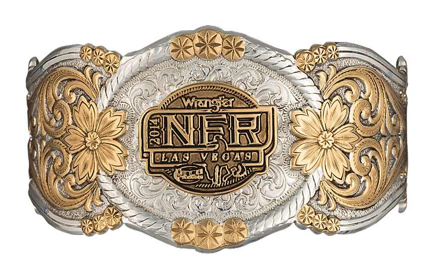 Montana Silversmiths 2014 WNFR Heirloom Gold Corsage Bracelet