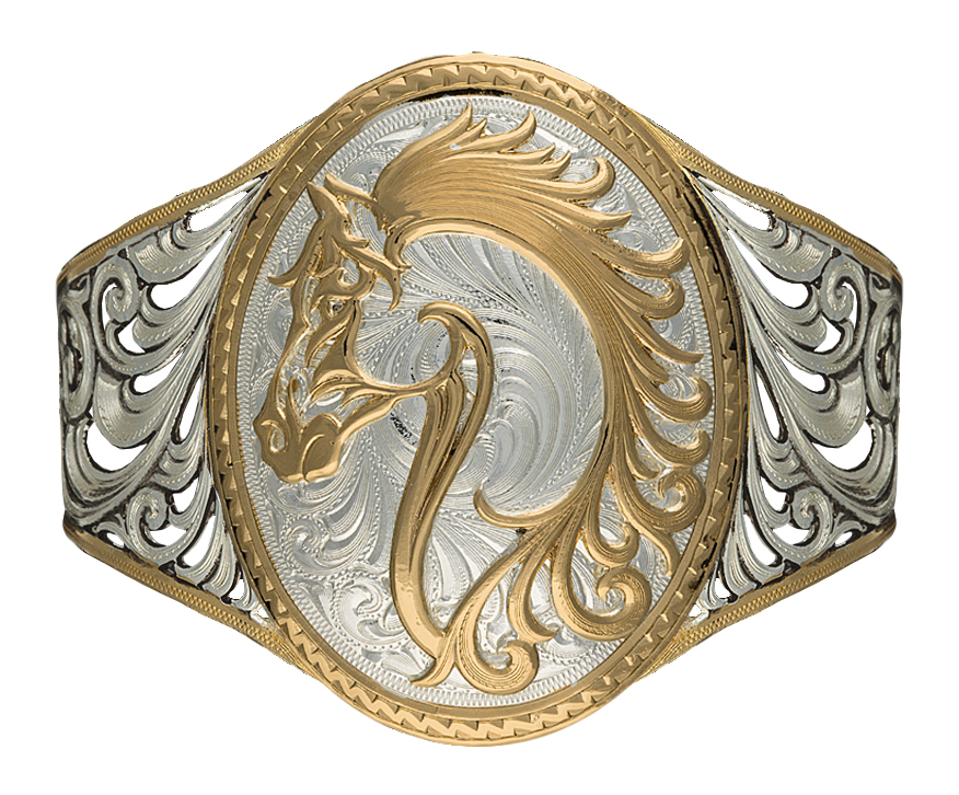 Montana Silversmiths Portrait of a Cowgirl's Love Cuff Bracelet