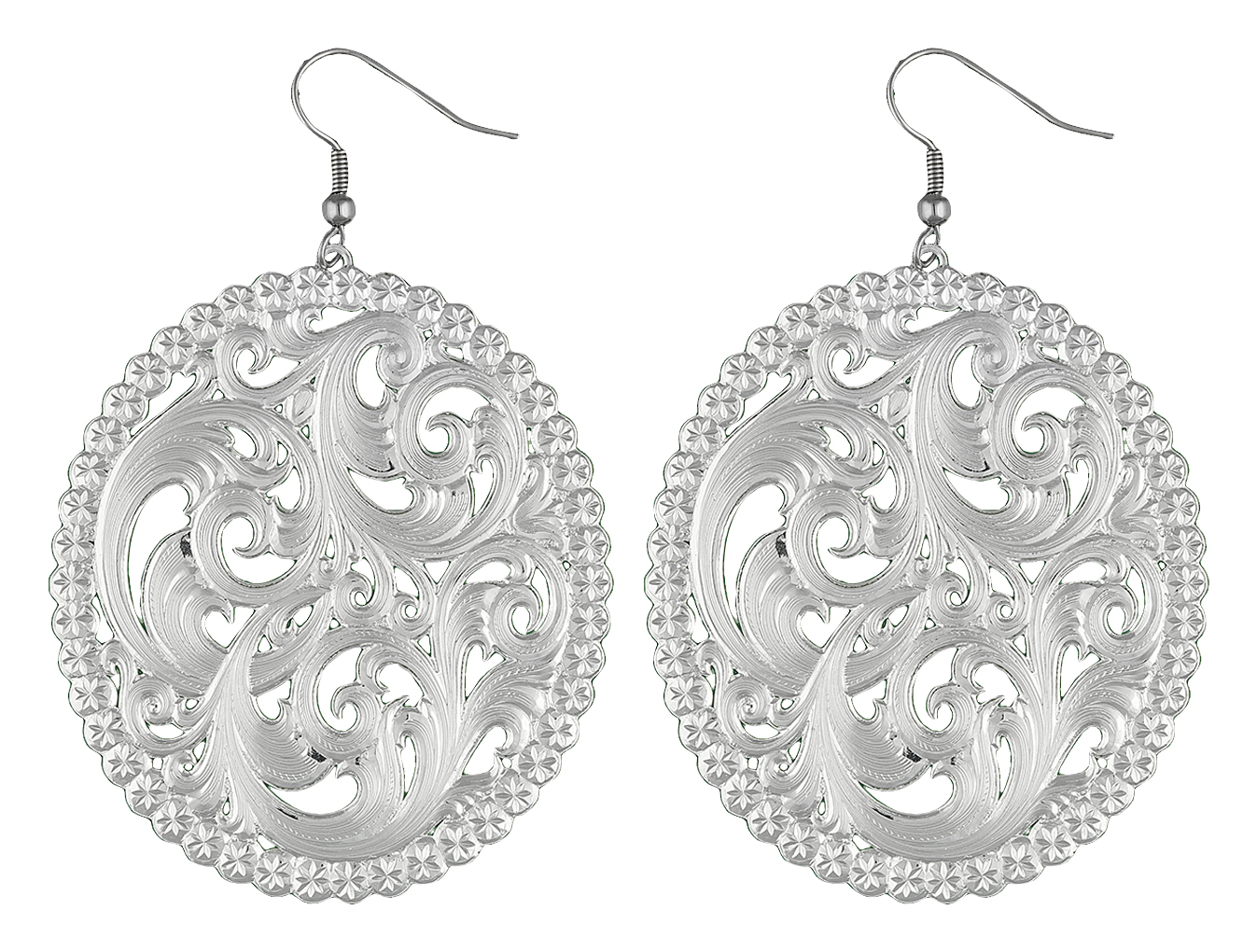 Montana Silversmiths View Through The Picture Window Filigree Earrings