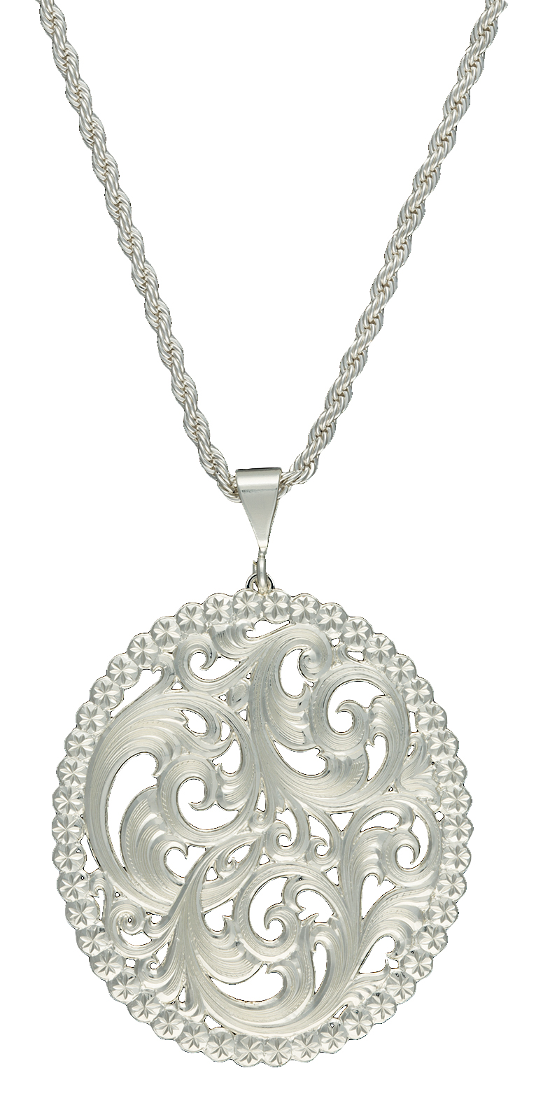 Montana Silversmiths View Through The Picture Window Filigree Necklace