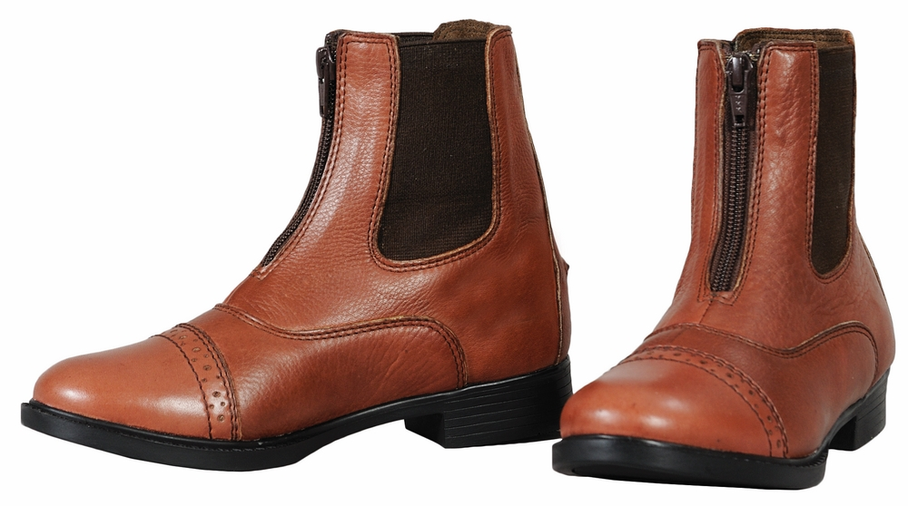 TuffRider Child's Journey Front Zip Paddock Boots