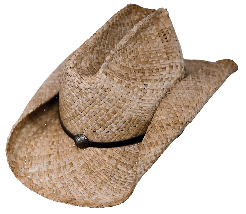 Outback Trading Buckaroo Straw Hat