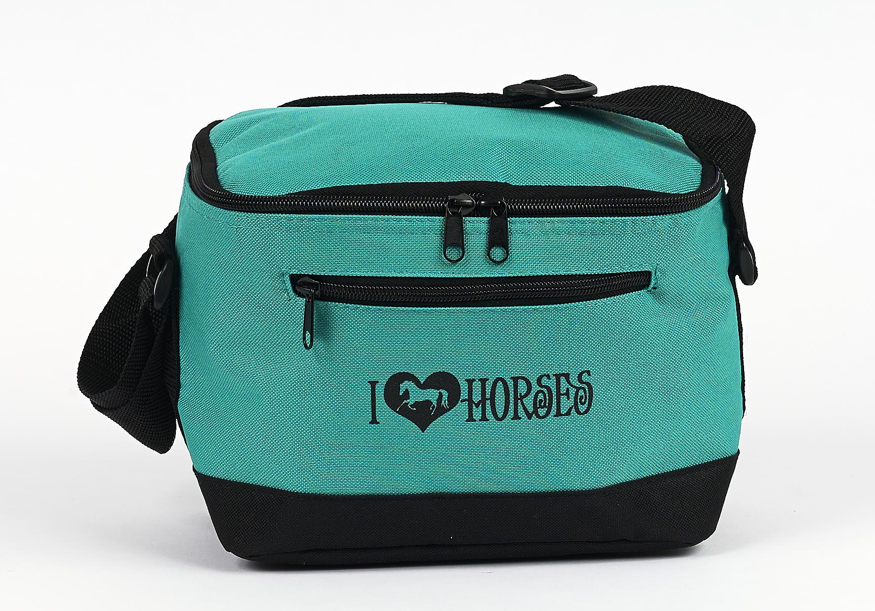 ''I (heart) Horses'' Lunch Cooler