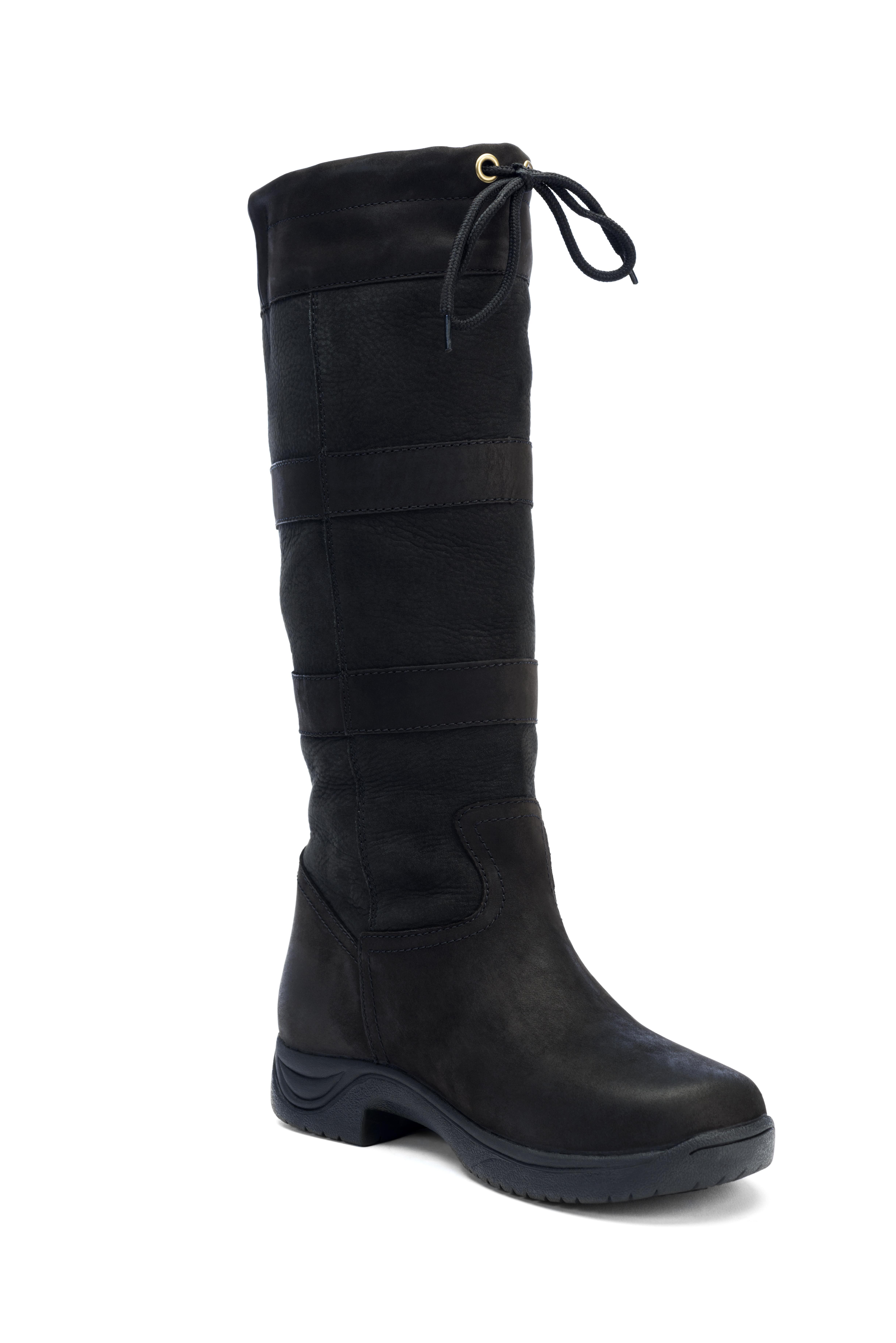 dublin river boots black 8 5 ebay