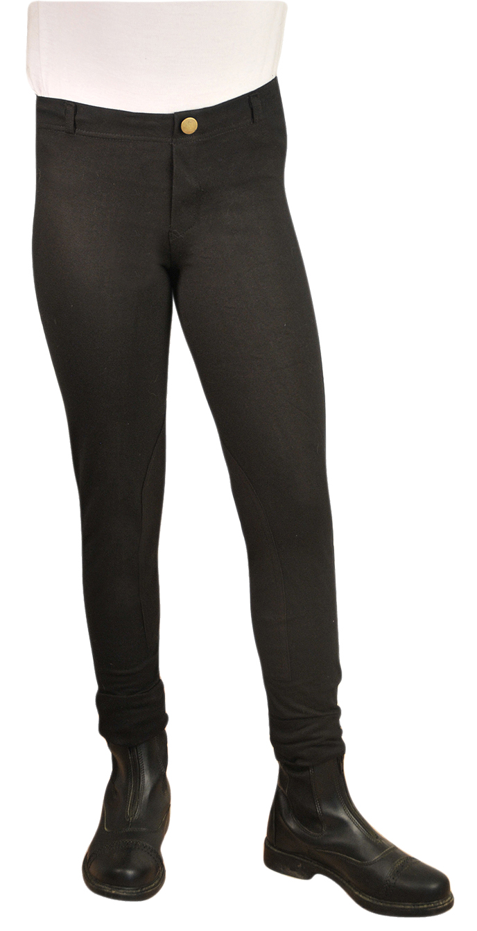 Ashley Child Lightweight Pull On Breeches with Clarino