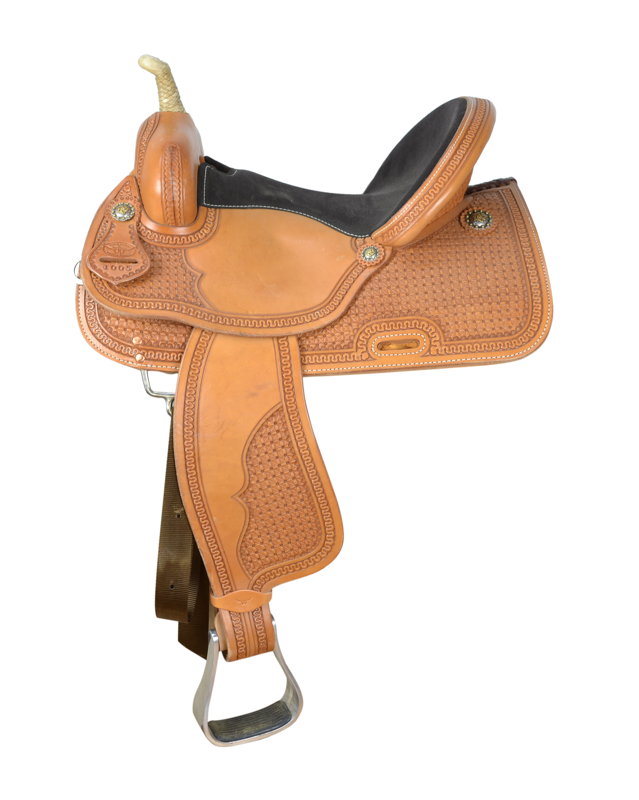 Nevada Pro Saddle Golden Snowflake