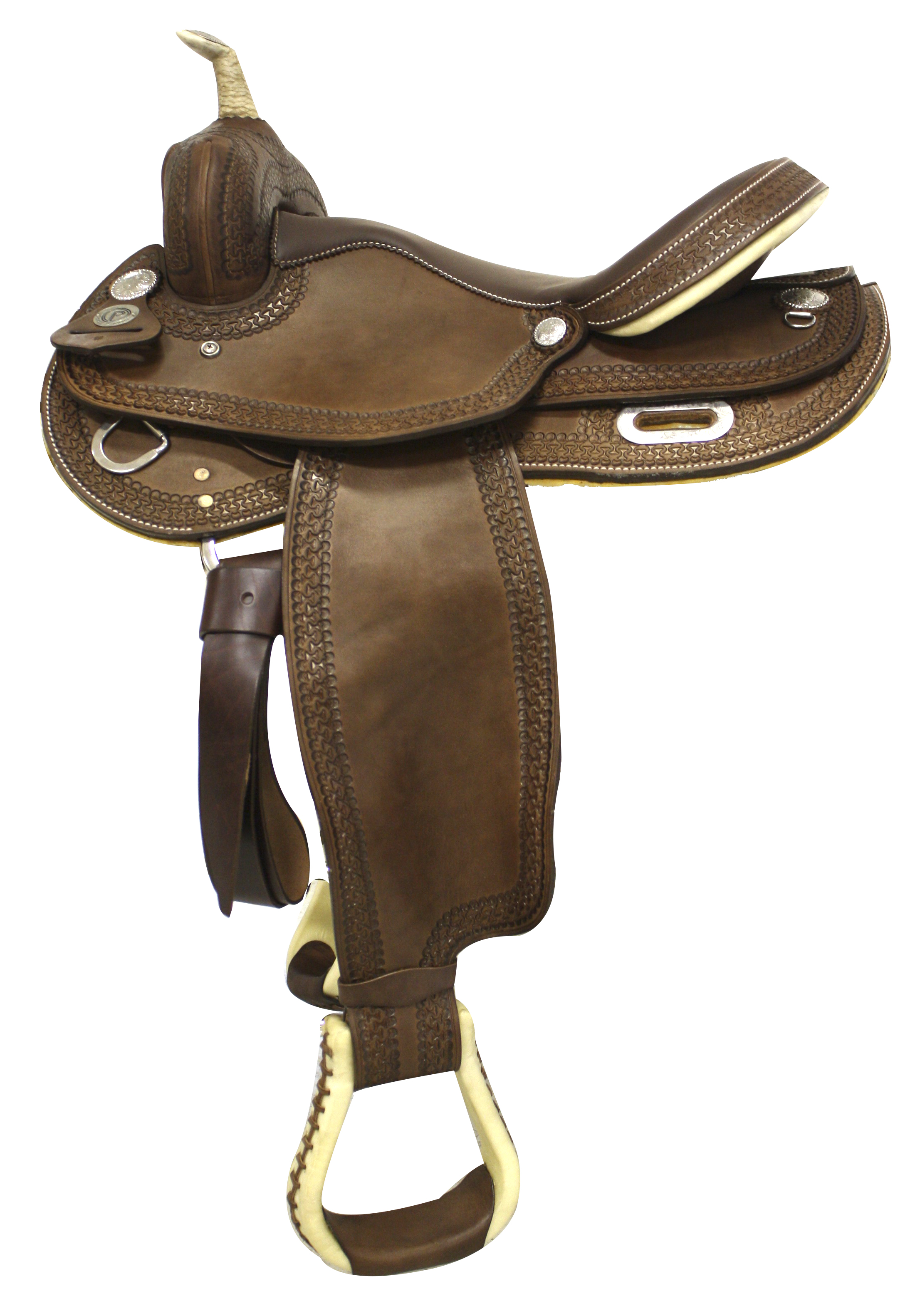 Circle P Winchester Barrel Saddle