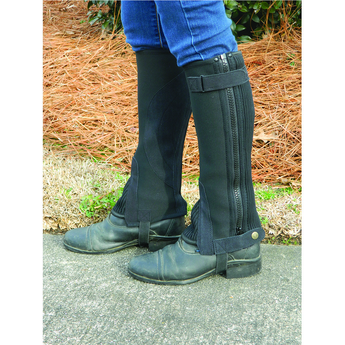 Equi Sky By Lami-Cell Easy Clean Half Chaps