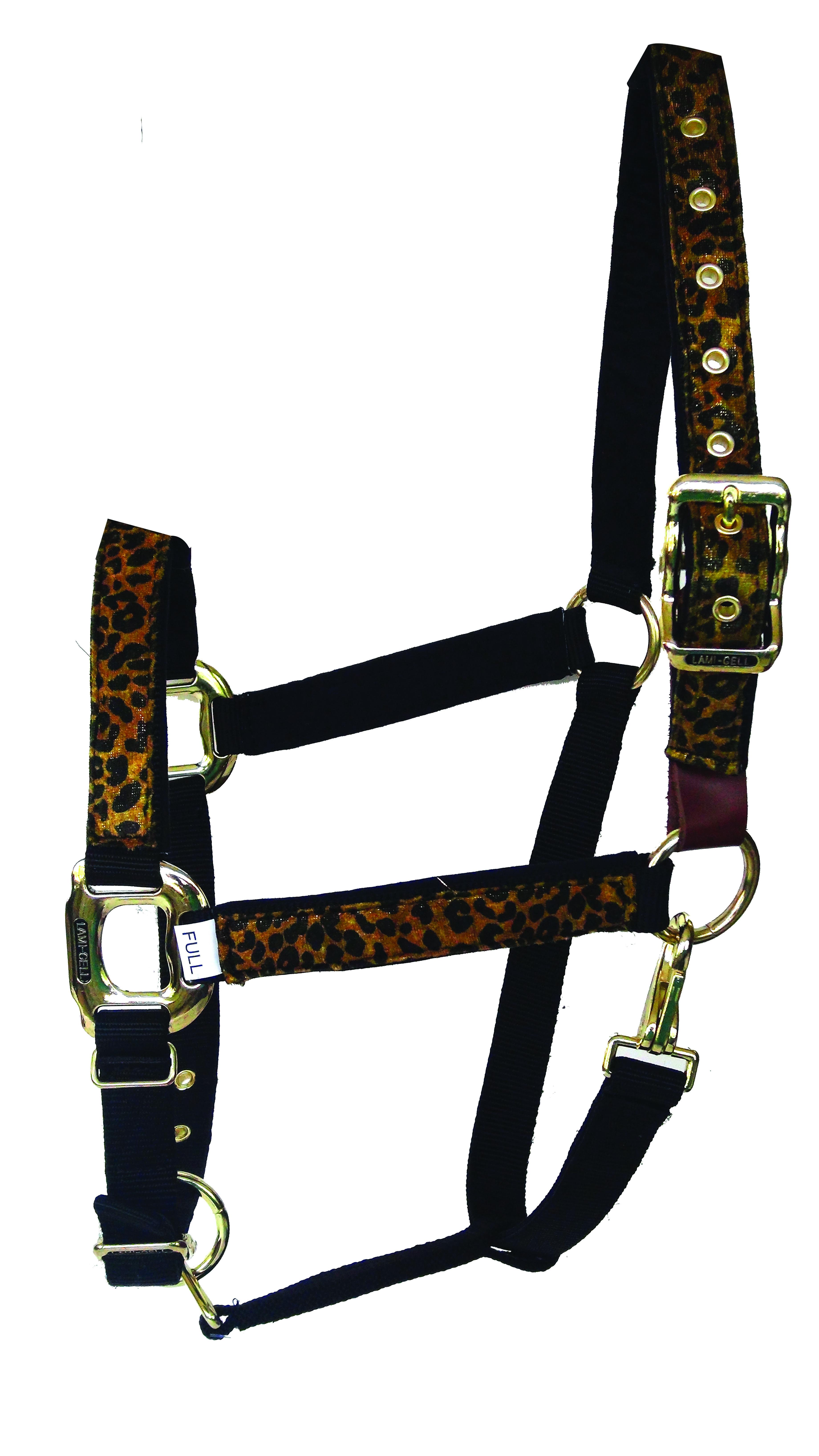 Lami-Cell Leopard Halter