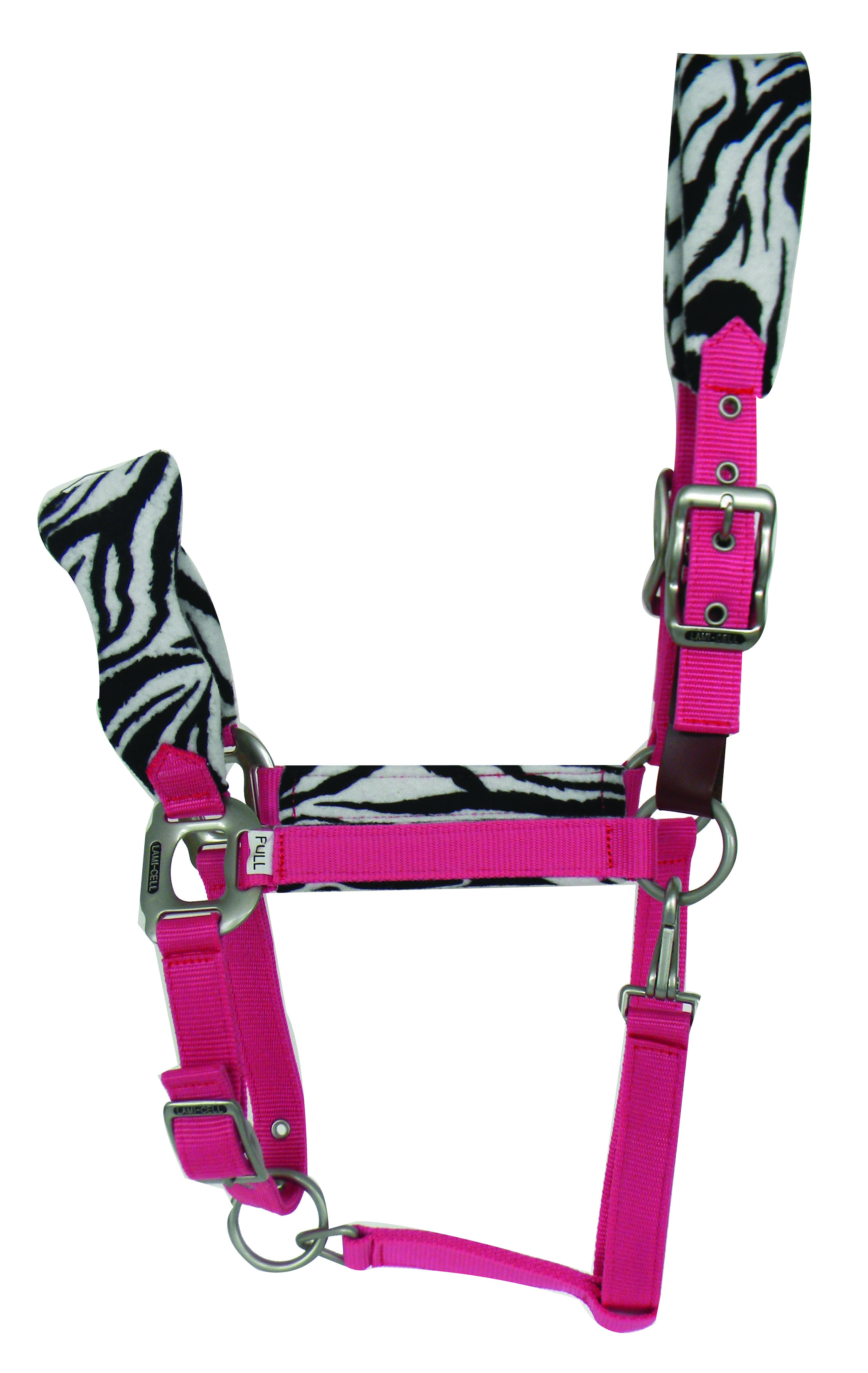 Lami-Cell Zebra Padded Fleece Halter