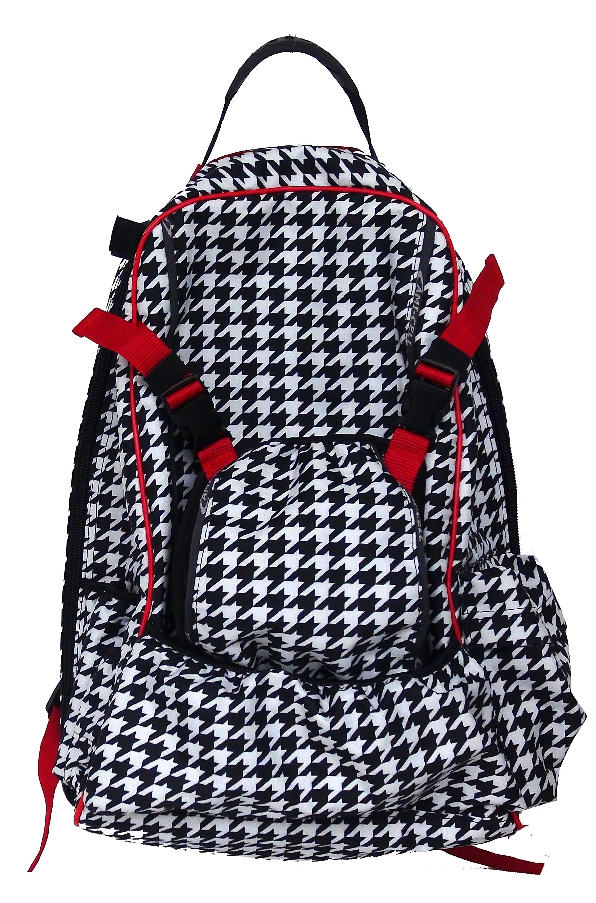 Lami-Cell Houndstooth Rider's Back Pack