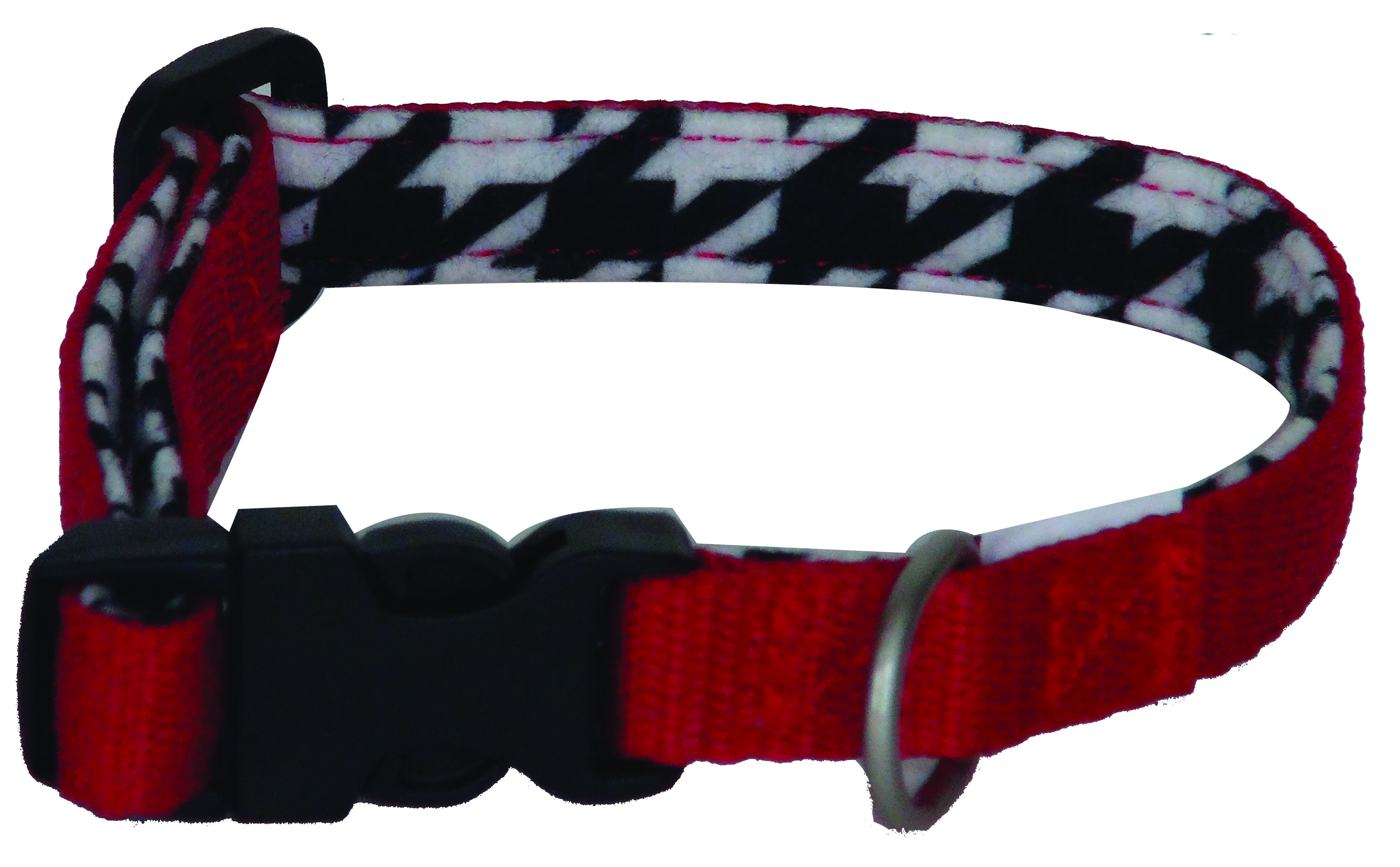 Lami-Cell Houndstooth Dog Collar