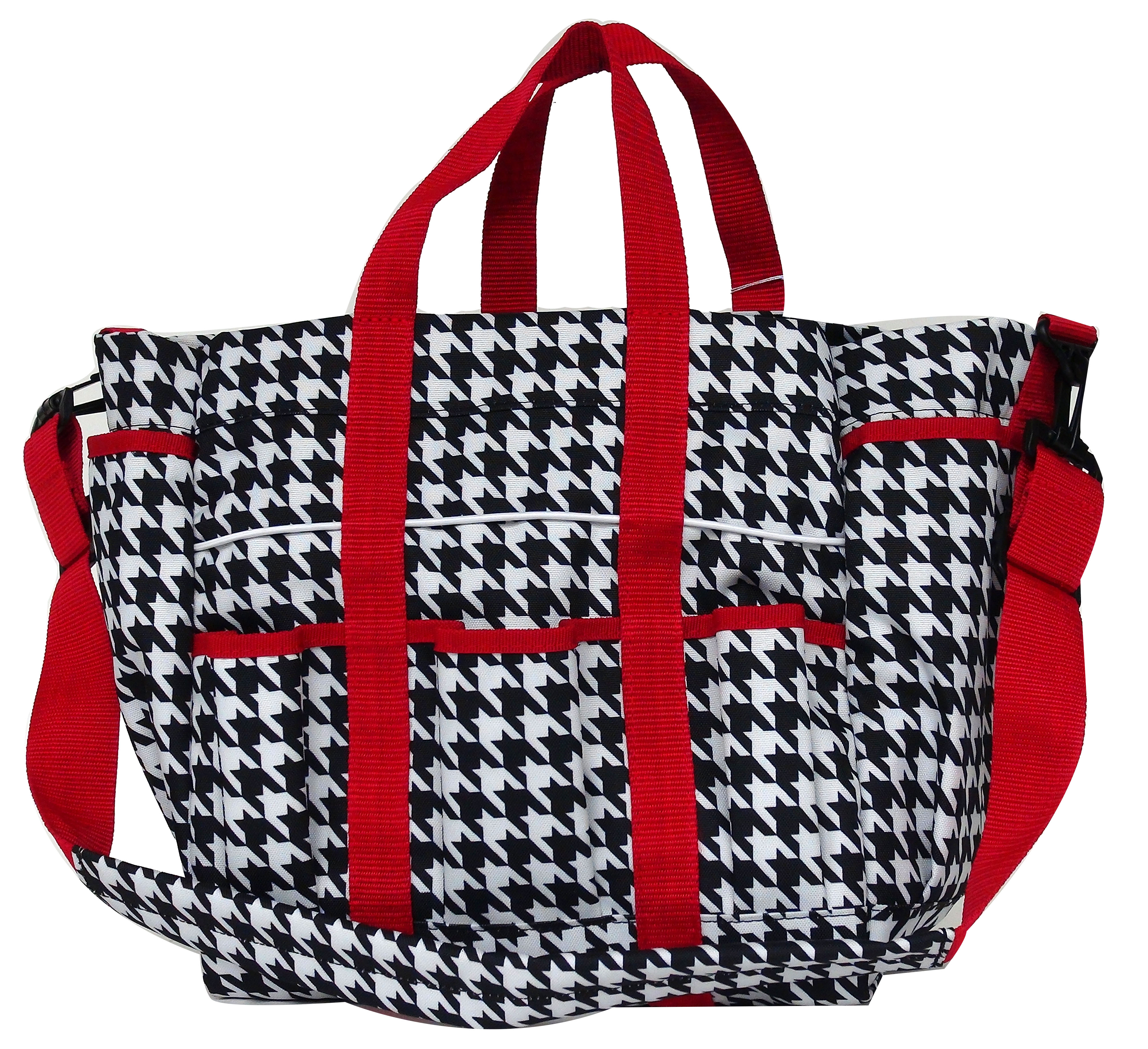 Lami-Cell Houndstooth Stable Tote - Large