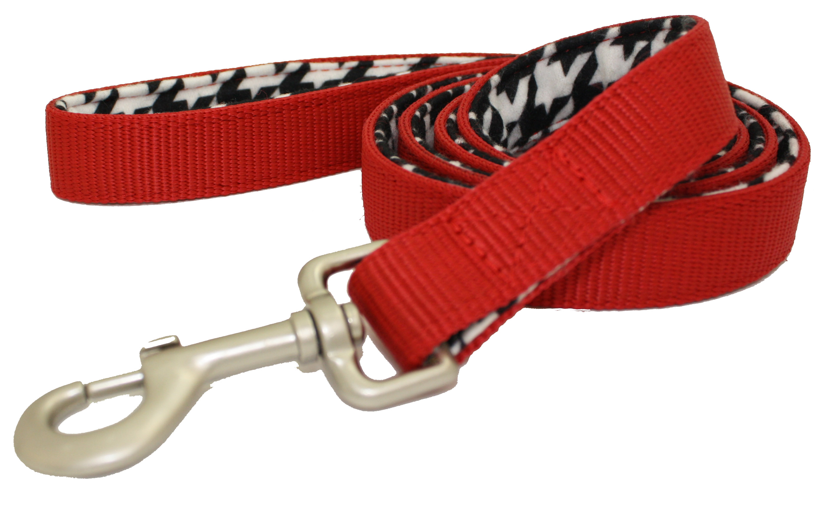 Lami-Cell Houndstooth Dog Leash