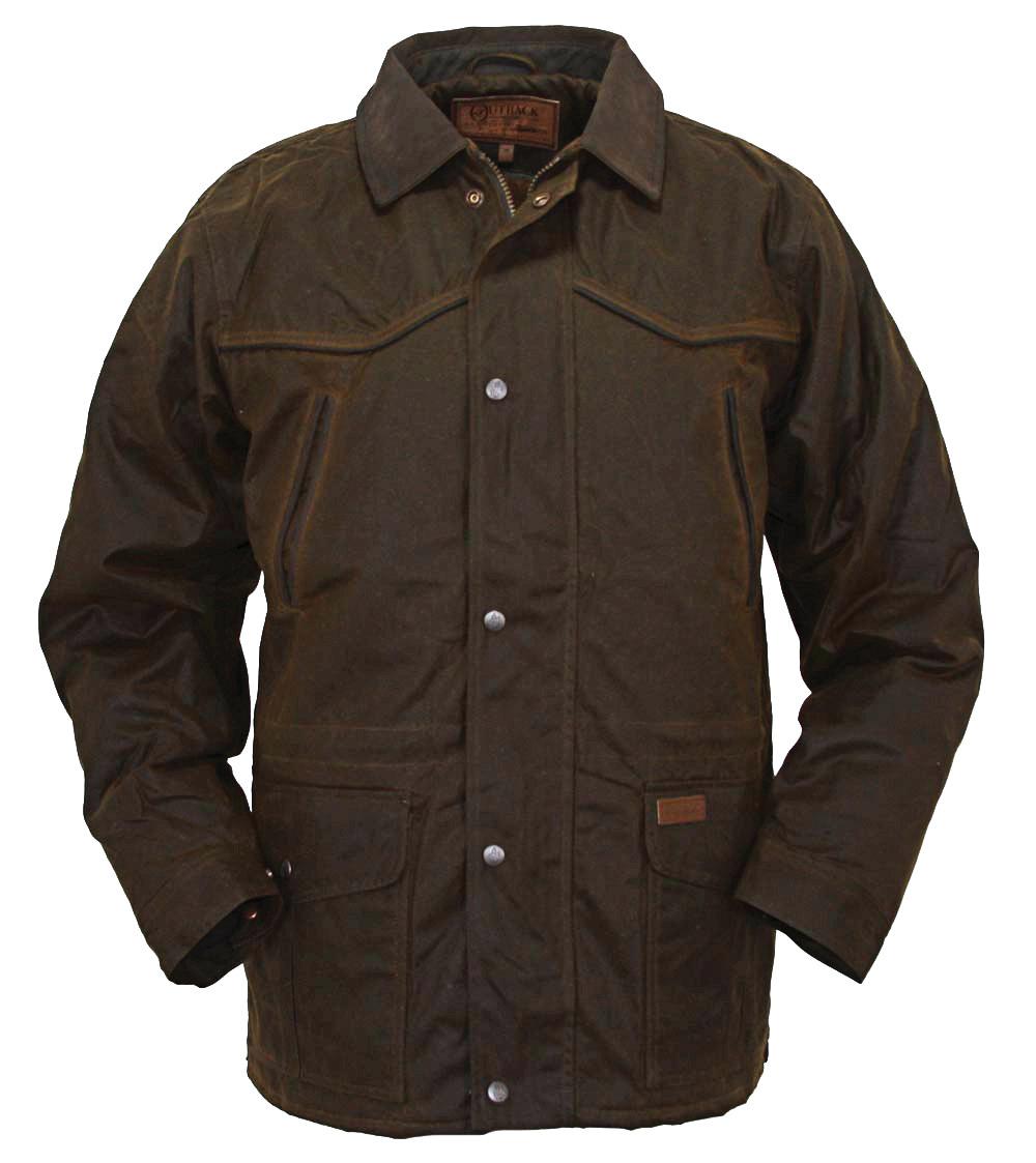 Outback Trading Men's Pathfinder Oilskin Jacket