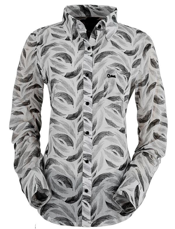 Outback Trading Black Swan Shirt