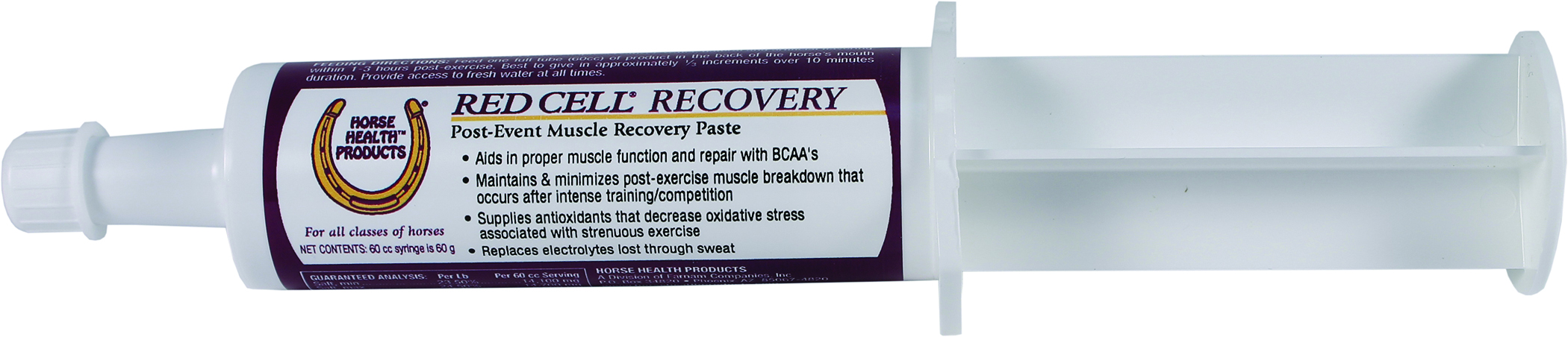 Red Cell Recovery Paste For Horse Muscles