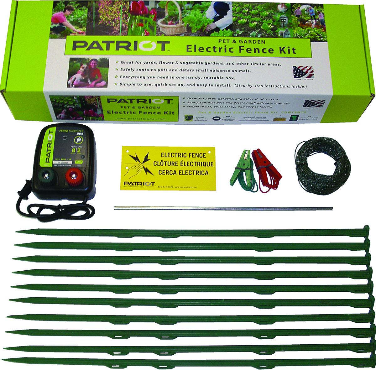 Pet Garden Electric Fence Kit