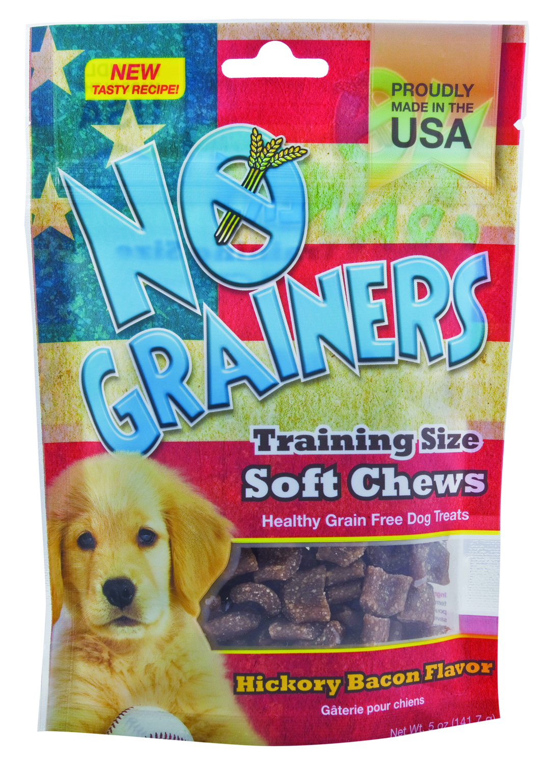 YumZies No Grainers Soft Chews Grain Free Dog Treats