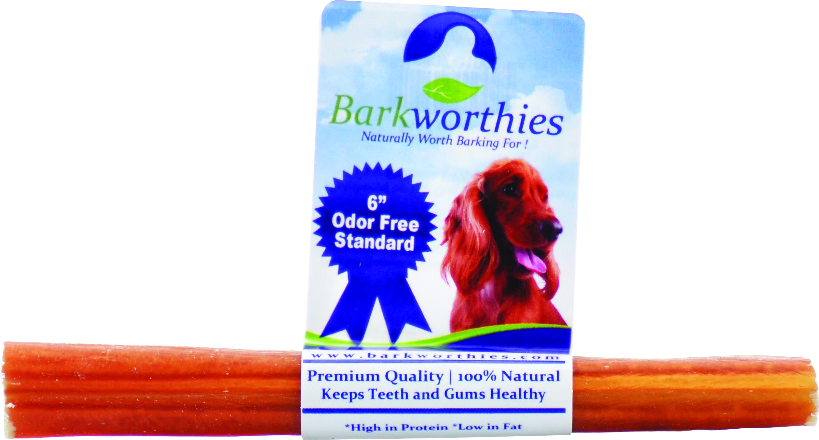 BARKWORTHIES Odor Free Standard Bully Stick