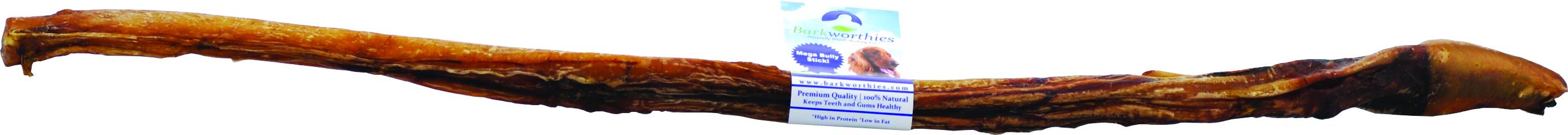 BARKWORTHIES Standard Bully Stick Mega
