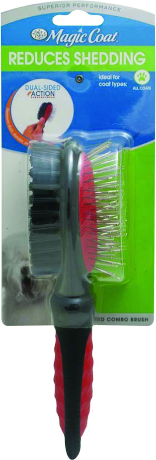 FOUR PAWS Magic Coat Dual-Sided Combo Brush