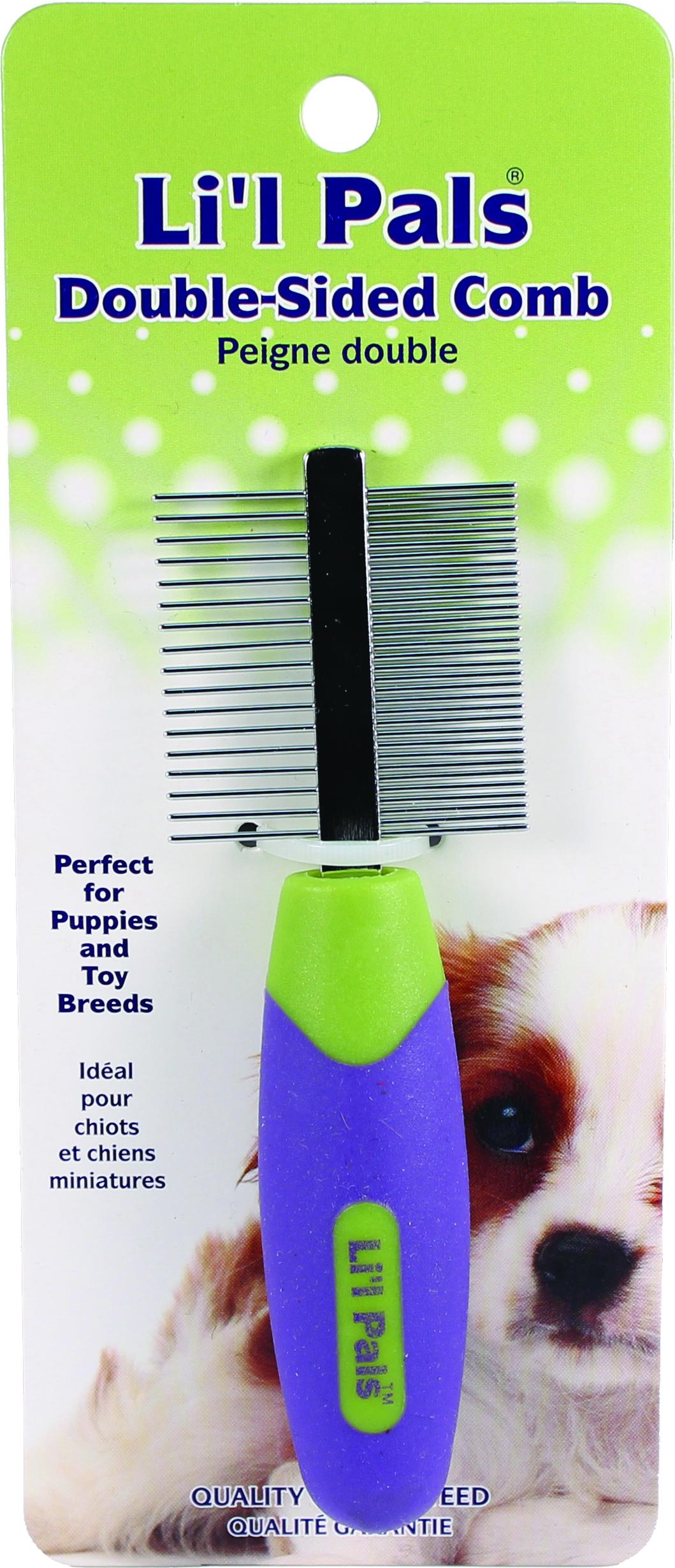 Li'l Pals Double-Sided Comb
