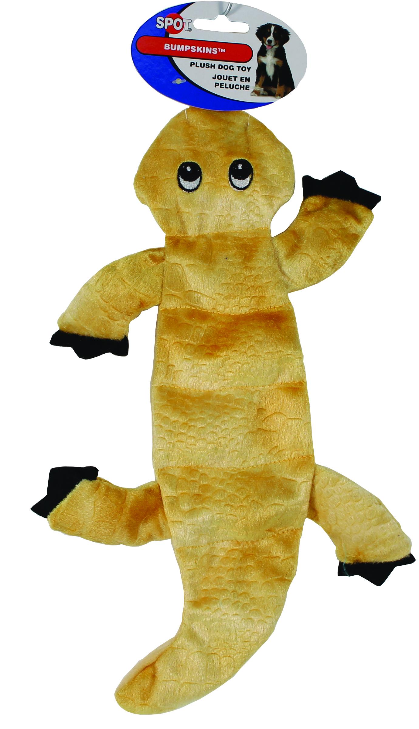 SPOT Bumpskins 6 Squeaker Lizard