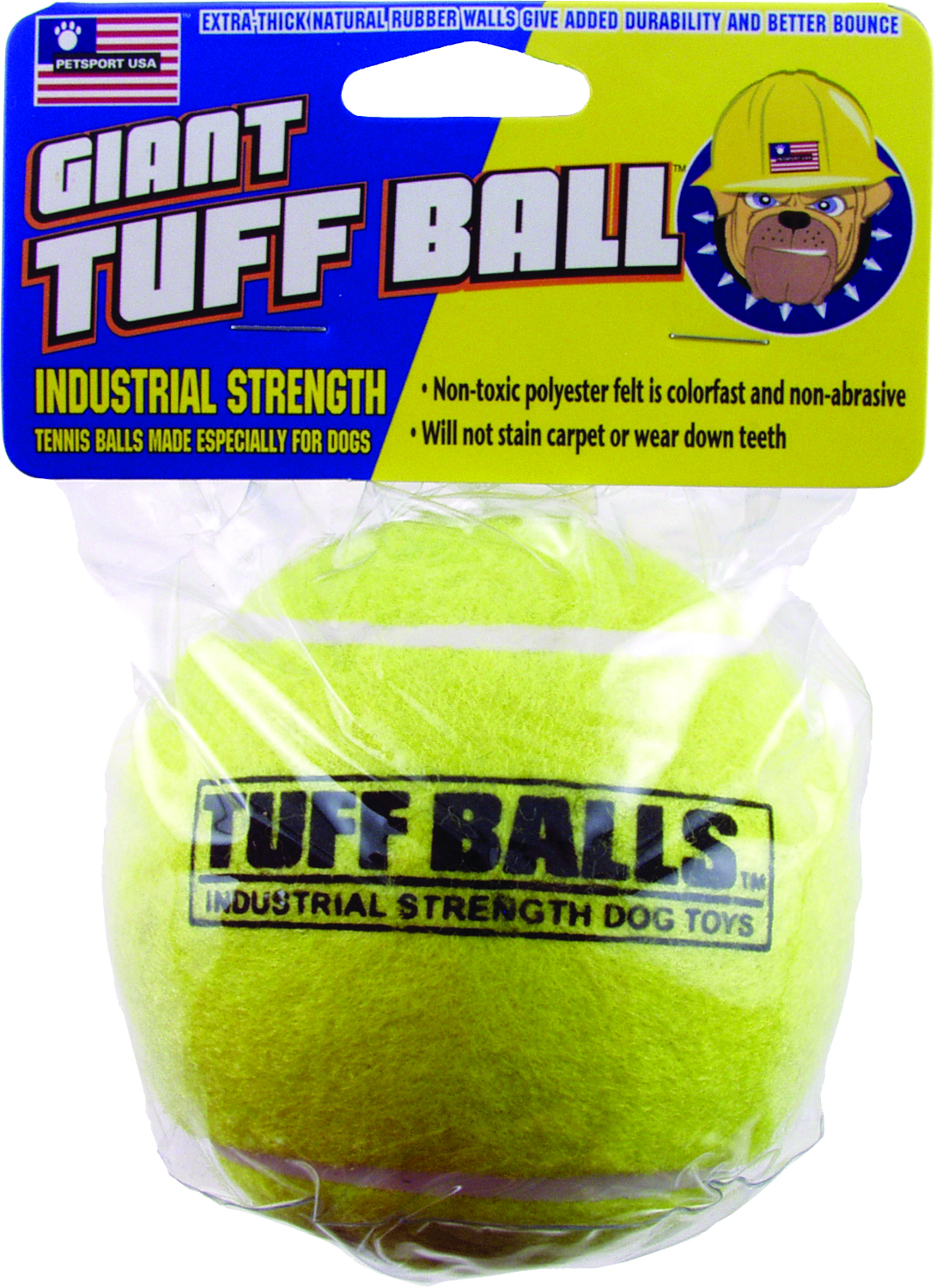 PETSPORT USA Giant Tuff Ball
