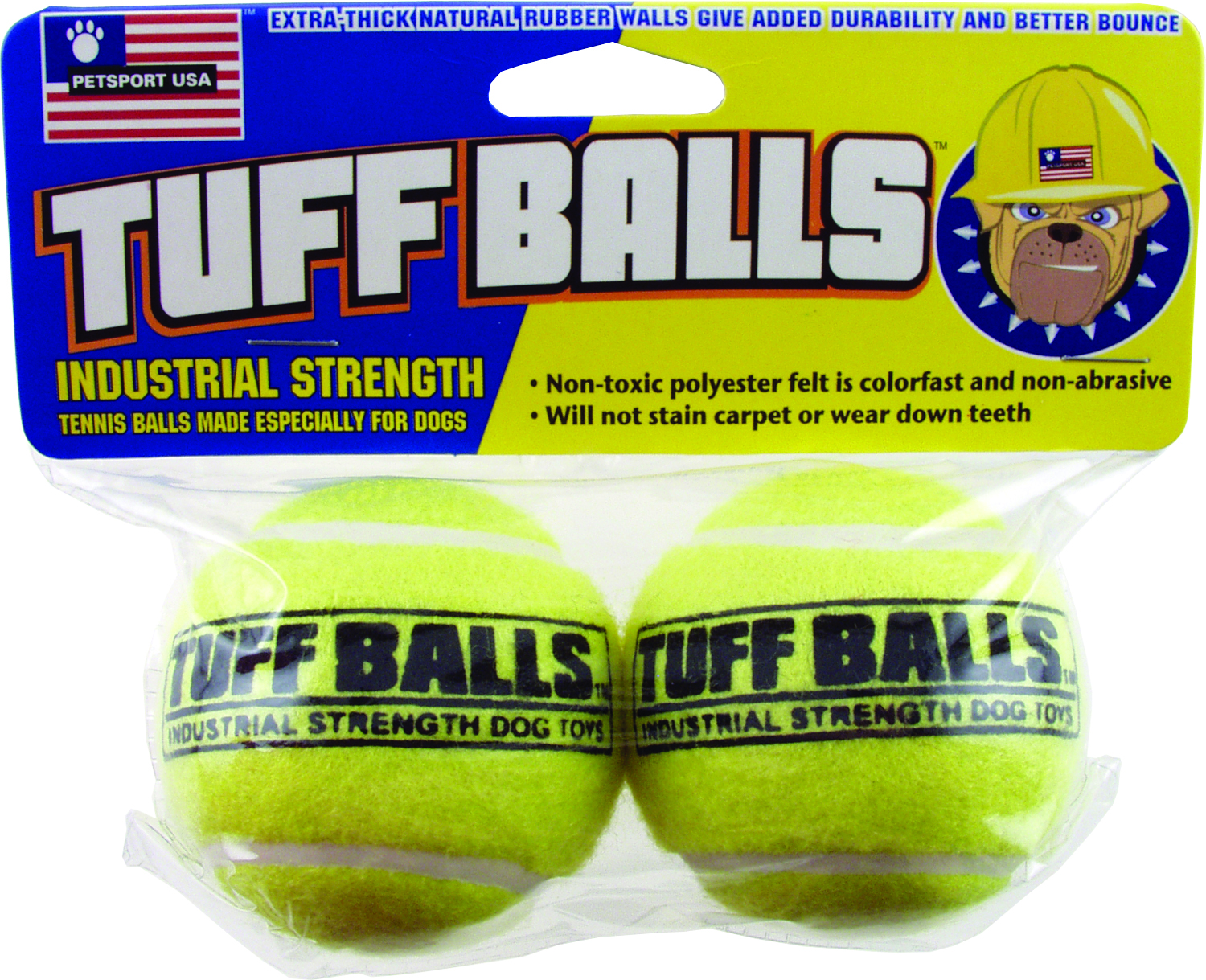 PETSPORT USA Tuff Balls