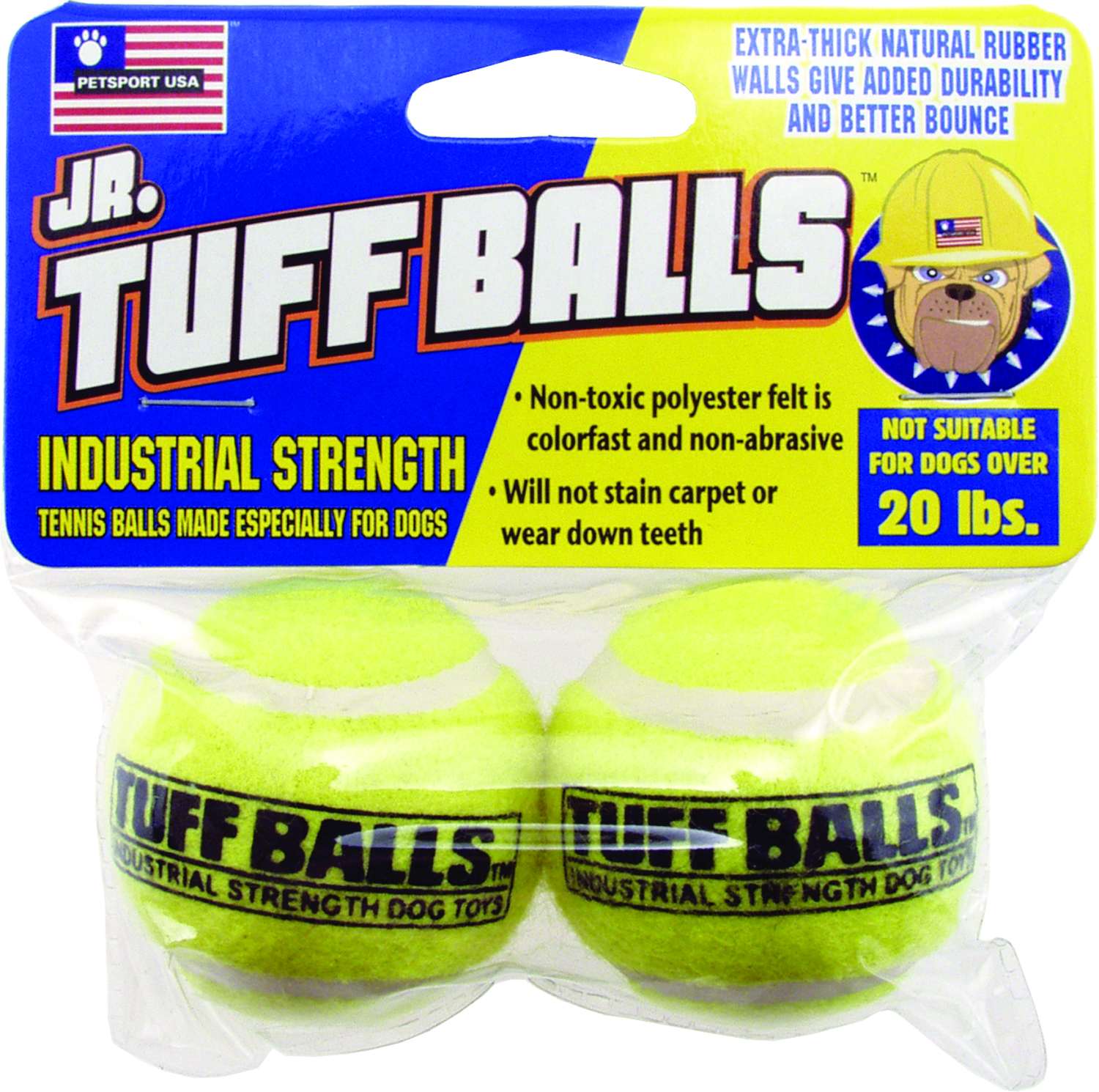 PETSPORT USA Jr Tuff Balls