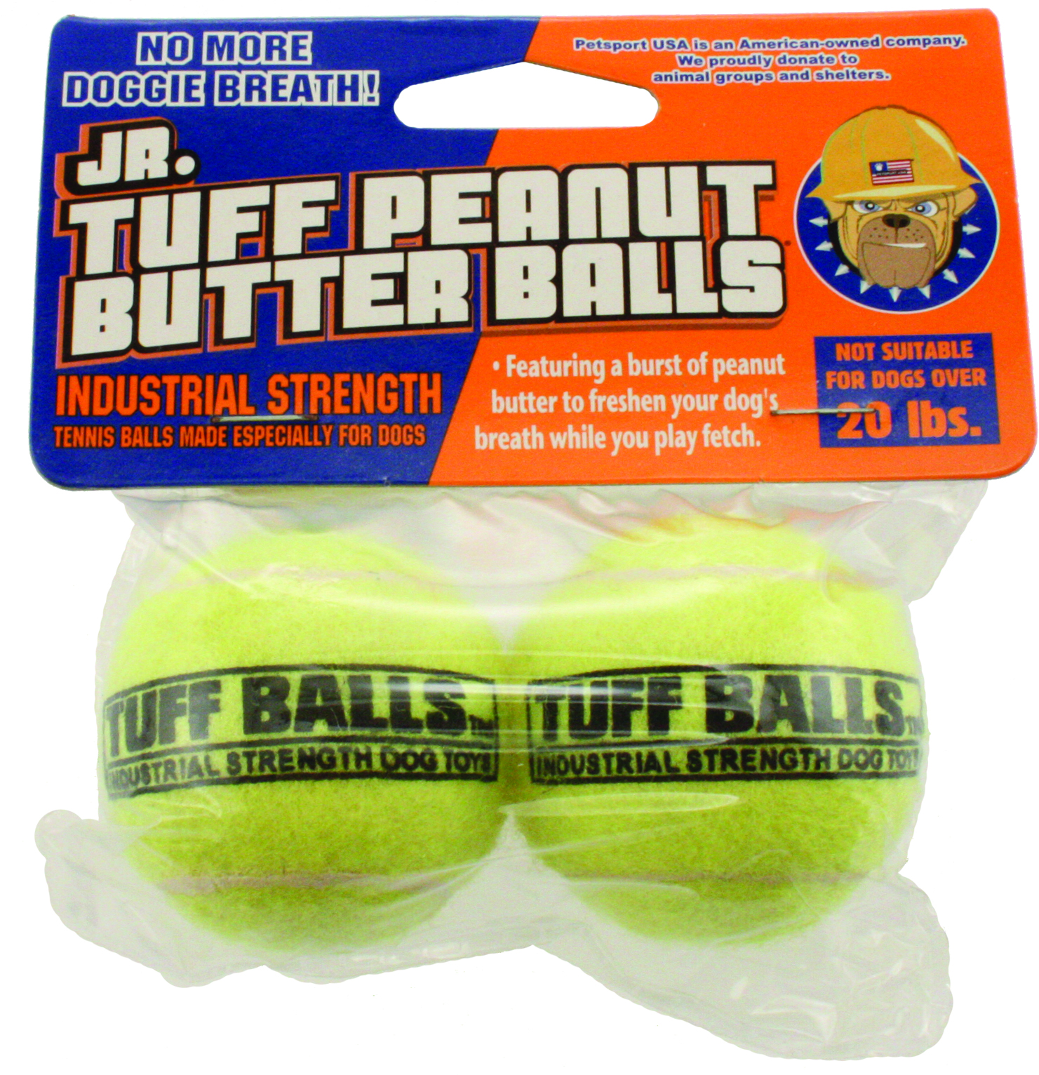 PETSPORT USA Jr Tuff Peanut Butter Balls