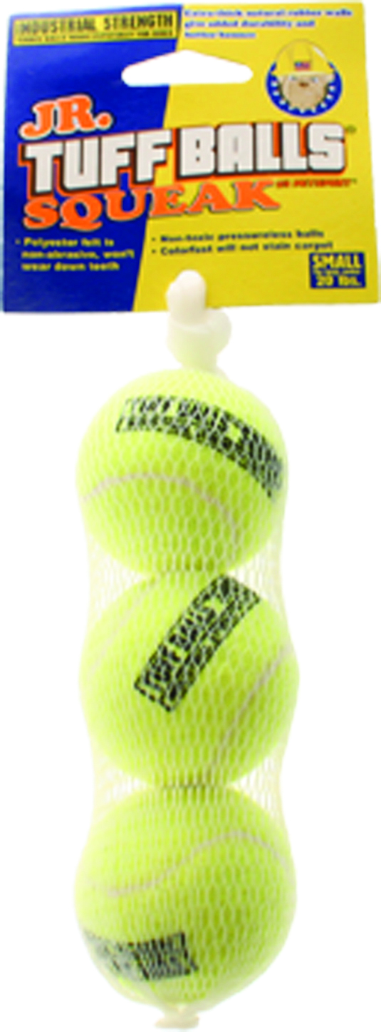 PETSPORT USA Jr Tuff Ball Squeak