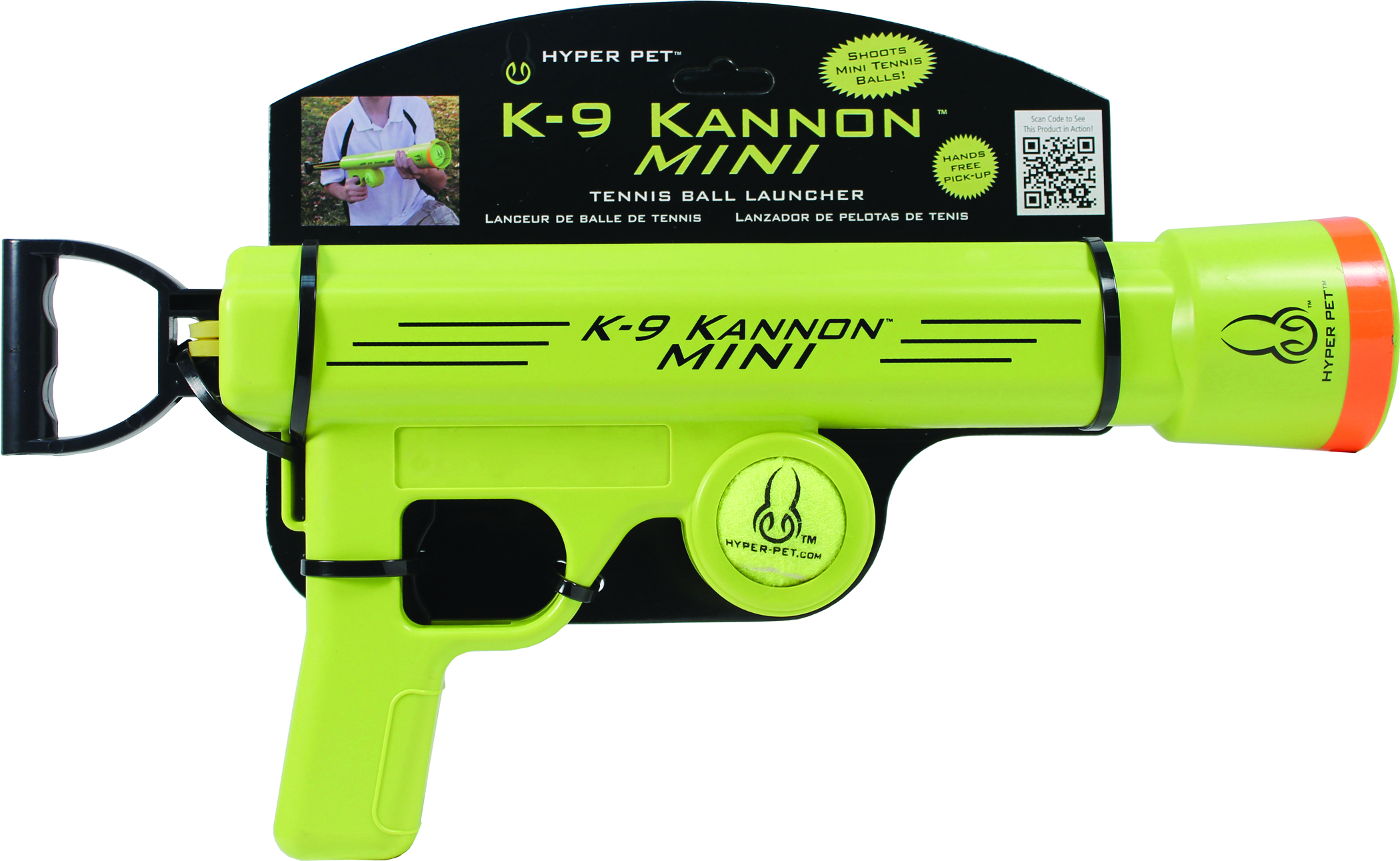 Hyper Pet K-9 Kannon Mini Tennis Ball Launcher