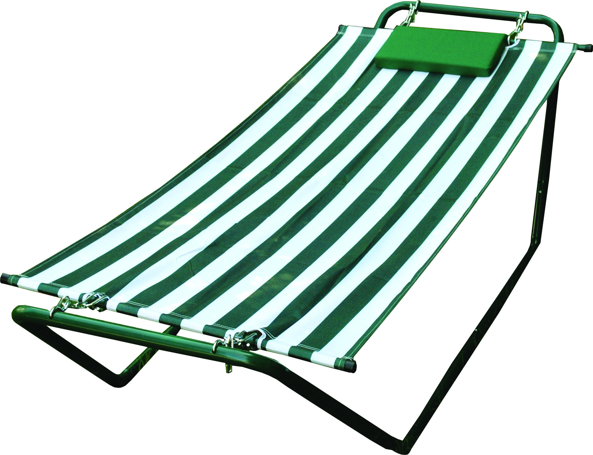 Polyester Fabric Hammock With Stand
